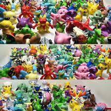 <b>200 PCS</b> 3-<b>5 Cm</b> Mini Pikachu Action Figure Kids Toys Children ...