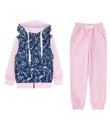 <b>Спортивный костюм</b> толстовка/брюки <b>Batik</b>, цвет: розовый/синий ...