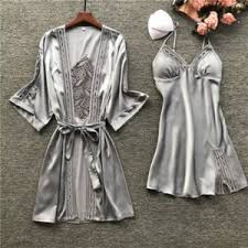 Пижама Aliexpress BZEL Sexy Lace Robe <b>Sets</b> With Belt 2PCS ...