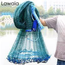 <b>Lawaia</b> Big <b>Fishing Net</b> Magnet Hand Netting <b>Fly Cast Nets</b> Rubber ...