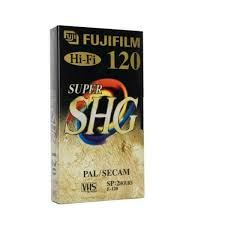 3x <b>VHS</b> Video Cassette <b>E 120 E120</b> Supershg Fuji Fujifilm Empty for ...