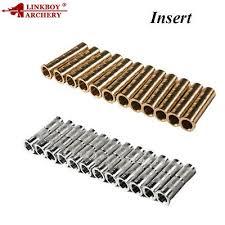 <b>Archery</b> Copper Brass <b>Arrow</b> Shaft Insert <b>Thread</b> 8/32 ID6.2mm OD7 ...