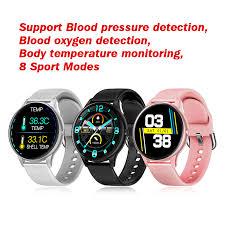 <b>K21 Smart Watch</b> Men Blood Pressure Monitor Bluetooth <b>Sport</b> ...