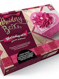 Шкатулка <b>своими руками Danko</b> Toys EMB-01-08 Embroldery Box ...