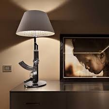 starck lighting. gun table lamp philippe starck lighting