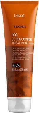 <b>Lakme Teknia Ultra</b> Copper Treatment (250ml): Amazon.co.uk ...