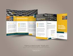 brochure page brochure template best of latest 4 page brochure template medium size