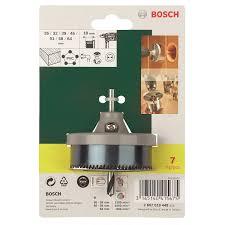 Набор <b>коронок</b> по дереву <b>BOSCH</b> 7 шт. 26, 32, 39, 45, 51, 58, 64 мм
