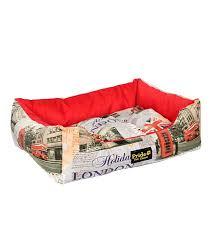 <b>Лежак</b> для кошек, собак «<b>Лондон</b>»<b>прямоугольный</b> 60*50*18см ...