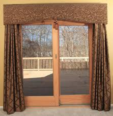 patio door curtains jacquard sun zero barrow extra wide energy efficient grommet patio door curtain