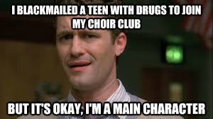 Everything Has Memes, Even Glee   We Heart It   glee, meme, and mr ... via Relatably.com