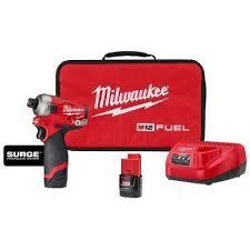 Milwaukee - <b>12v</b> - Impact Drivers - Drills - The Home Depot