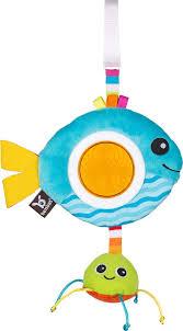 <b>Игрушка</b>-<b>погремушка Benbat</b> Rattles Рыбка, TT126, голубой