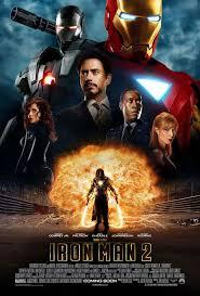 new iron man 2 poster shows off scarlett johansson batman superman iron man 2