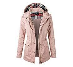 makeitmint <b>Women's</b> Zip Up Military Anorak Jacket w/<b>Hood</b> Small ...