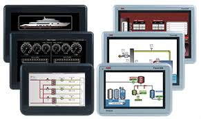 <b>Black</b> and Rugged marine certified <b>panels</b> - <b>Panel</b> 800 operator HMI ...