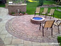 outdoor fireplace paver patio:  belgard patio with fire pit and outdoor kitchen by palatine patio builder arcadeck of chicagoland