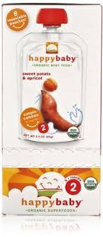 Happy Baby <b>Organic Stage 2 Simple</b> Combos Sweet Potato ...