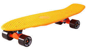 <b>Скейтборд</b> Y-Scoo <b>RT 401</b>-<b>O</b> Fishskateboard 22 ORANGE black ...