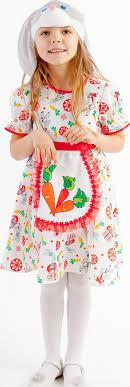 <b>Карнавальный костюм Зайка</b> Лена платье, маска размер 104-52 ...