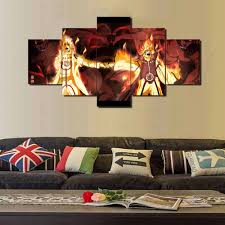 <b>Framed</b> Hot Sell <b>5 Piece</b> Canvas Art sticker Naruto wallpaper ...