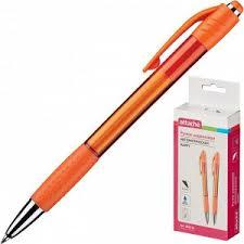 <b>Ручка шариковая Attache</b> Happy,оранжевый корпус,цвет чернил ...