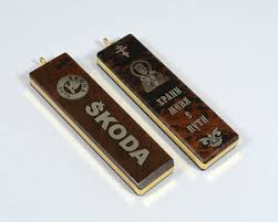 Брелок <b>Skoda</b> — купить по выгодной цене на Яндекс.Маркете