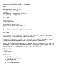 admissions recruiter cover letter template how to get admissions coordinator cover letter
