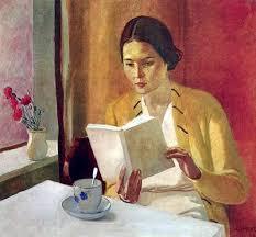 Resultado de imagen para mujer leyendo un libro