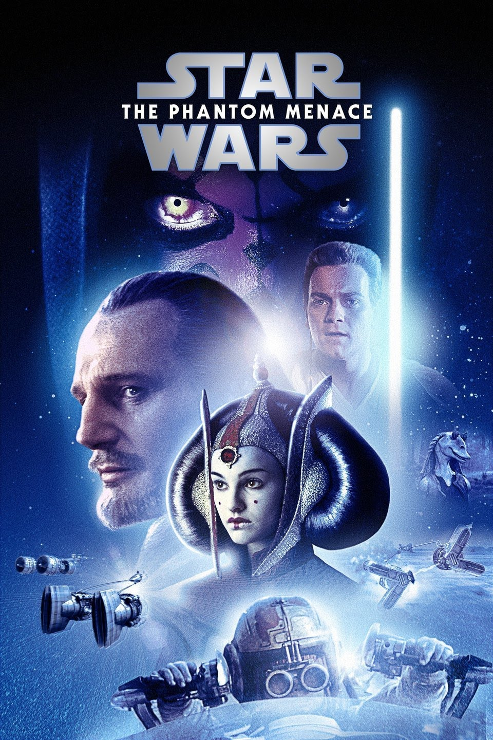 Download Star Wars: Episode I – The Phantom Menace (1999) {Hindi-English} 480p | 720p