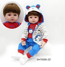 Buy Lilith <b>Real Looking</b> Soft Silicone Reborn Baby Boy <b>Doll</b> 22 inch ...