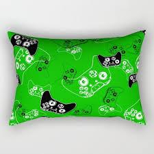 Gamer Pillow with Insert, Video <b>Game</b> Pillow, Lumbar Pillow ...