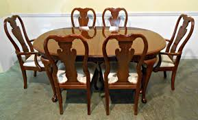Thomasville Dining Room Sets Discontinued Arm Chair Queen Anne Chair Cushions