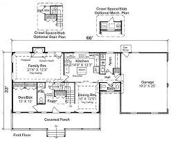 House Plan at FamilyHomePlans comCountry Farmhouse Traditional House Plan Level One