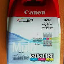 Новый <b>картридж Canon CLI</b>-<b>521</b> C/M/Y Multipack – купить в ...