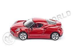 <b>Модель автомобиля Alfa</b> Romeo 4c - купить в интернет-магазине ...