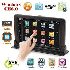 <b>VODOOL 7 inch</b> HD Car GPS Navigation Capacitive screen FM 8GB ...
