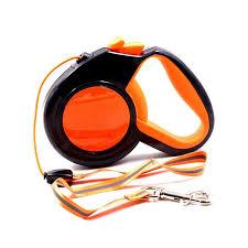 <b>Orange Green Reflective Retractable</b> Dog Leash For Small Dogs ...