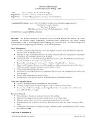 resume s assistant retail s assistant job description for store associate duties casaquadro com s advisor job descriptions fashion boutique s assistant job description retail