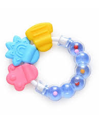 Buy 1 Piece Baby Rattle Soft <b>Non-toxic Silicone Baby Teether</b> ...