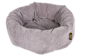 <b>Pride Ватрушка</b>-<b>лежак</b> для животных Велюр, круглый с мягкими ...