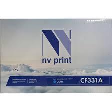 <b>Картридж</b> NV-Print <b>CF331A</b> Голубой (Cyan) — купить, цена и ...