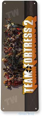 Amazon.com: Tinworld Tin Sign Team <b>Fortress</b> 2 <b>Arcade</b> Pc Game ...