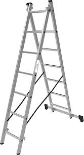<b>Лестница Олимп</b>, двухсекционная, 1220207A, серый металлик, 1 ...