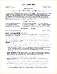 marketing executive resume executive resume template marketing executive resume format