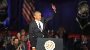transcript and analysis president obama addresses the nation in obama defends his legacy as he says farewell yes we can yes we