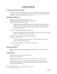 qualifications for resume getessay biz 10 images of qualifications for resume
