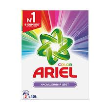 <b>Стиральный порошок</b> «Color. <b>Автомат</b>», Ariel, <b>450</b> г, Россия ...