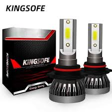 Kingsofe 2xLed <b>H4 H7</b> H1 <b>H11</b> 9006 <b>9005</b> 9012 Car Led Headlight ...