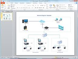 network diagram templates for powerpointpowerpoint network diagram template